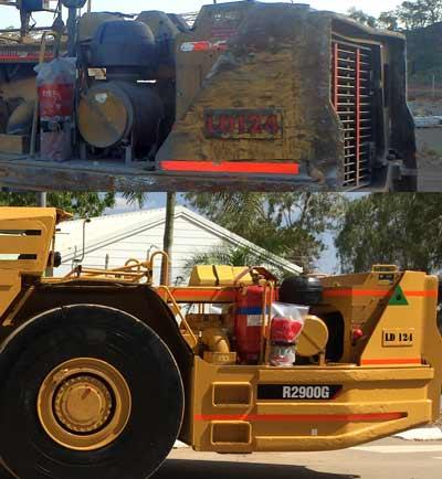 Heavy Mining Vehicle refurbish