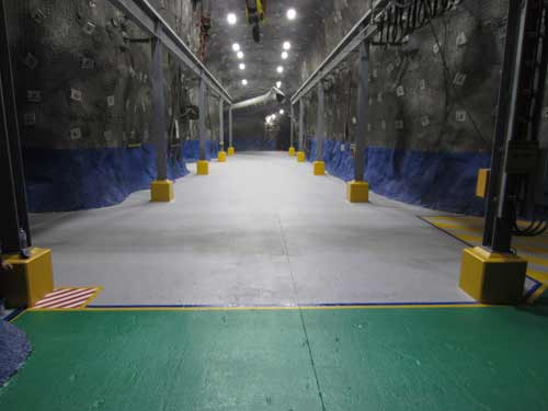 workshop and mine floor coating